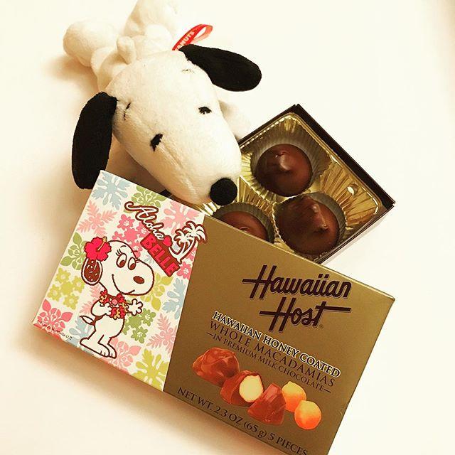 I love @hawaiianhostinc @hawaiian_host_jp macadamias! マカデミアナッツといえばこれです。やっぱり美味しい。#snoopy #peanuts #macademia #hawaiianhost #hawaiian #chocolate #oishii #yumyum #スヌーピー #belle #ハワイアンホスト