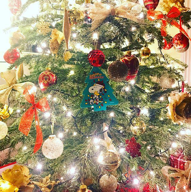 Merry Christmas from London!  ロンドンからメリークリスマス。#peanuts #snoopy